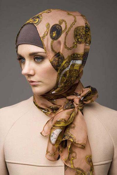 m r 12 مدل های جدید و جذاب بستن شال و روسری