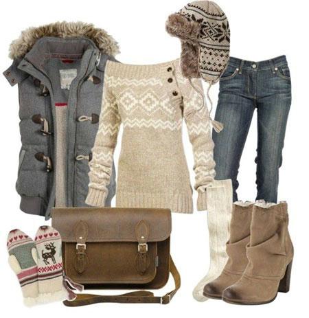 ست لباس زنانه زمستانی ۲۰۱۵