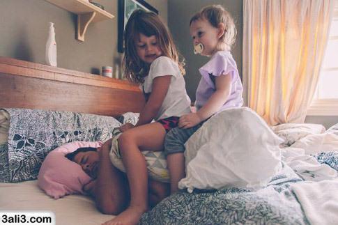تصاویر خنده دار از خرابکاری کودکان – شیطونی بچه ها