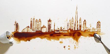 هنرنمایی با قهوه