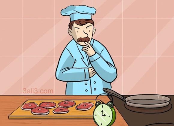 چالشی برای سرآشپز