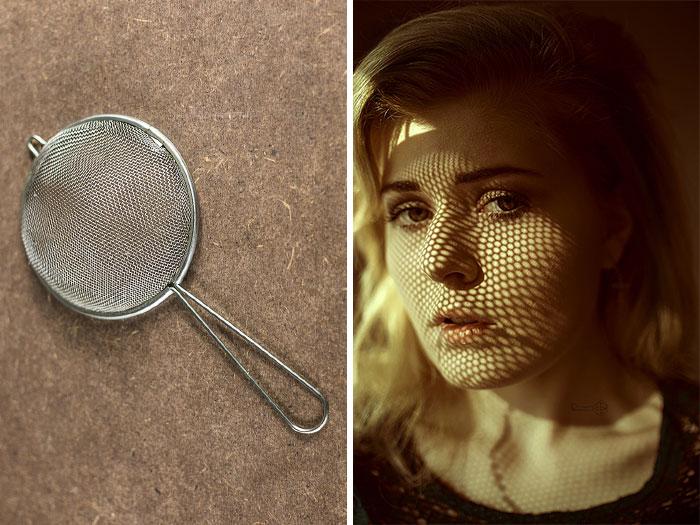 استفاده از الک برای ایجاد سایه روی عکس