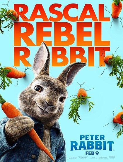 دانلود انیمیشن نبرد خرگوشها Peter Rabbit 2018 با دوبله فارسی