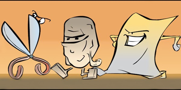معرفی بازی سنگ کاغذ قیچی | قوانین و ترفندها | چجوری ببریم