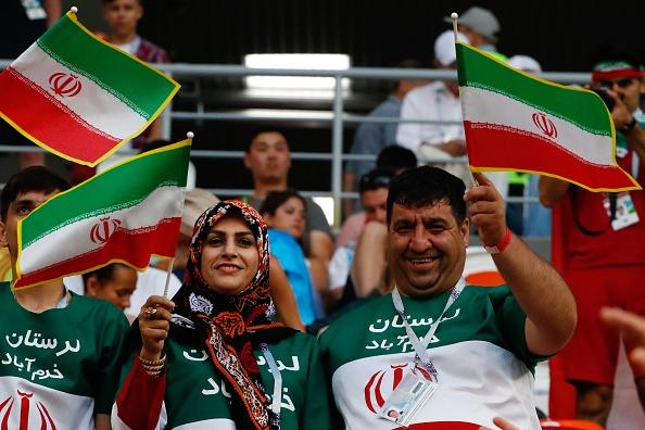تصاویر تماشاگران بازی ایران پرتغال
