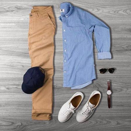 ست لباس مردانه مخصوص فصل بهار