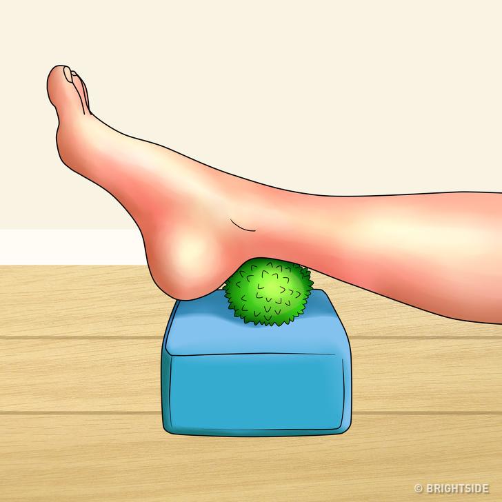 رهایی از درد پا با چند تمرین ساده + آموزش تصویری