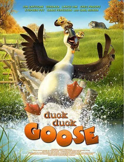 دانلود انیمیشن لک لک و غاز 2018 Duck Duck Goose با دوبله فارسی