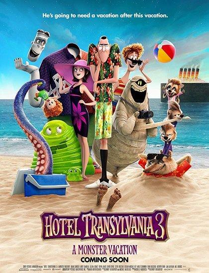 دانلود انیمیشن هتل ترانسیلوانیا 3 2018 Hotel Transylvania با دوبله فارسی