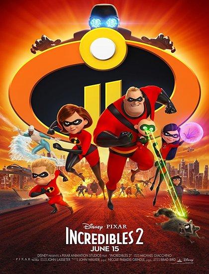 دانلود انیمیشن شگفت انگیزان 2 Incredibles 2018 با دوبله فارسی