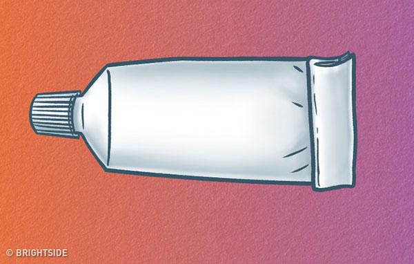 بررسی شخصیت از روی فشار دادن تیوپ خمیر دندان