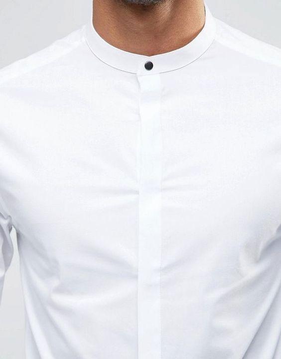 مدل پیراهن مردانه یقه دیپلمات رسمی
