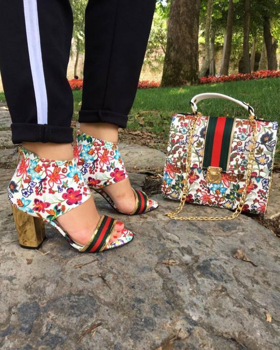 ست کیف و کفش زنانه 2019 | مدل کیف و کفش دخترانه 98