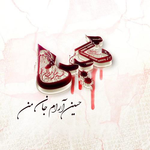 عکس نوشته نگین برای ماه محرم | پروفایل محرمی اسم نگین
