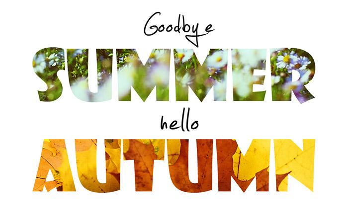 عکس نوشته پروفایل شروع پاییز | سلام و خوش آمد به پاییز