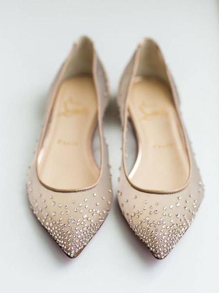 مدل های جدید کفش مجلسی پاشنه تخت زنانه