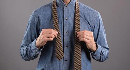 آموزش ساده تصویری گره زدن کراوات