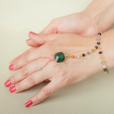 مدل های جدید و قشنگ دستبند انگشتری